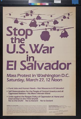 Stop the U.S. War in El Salvador