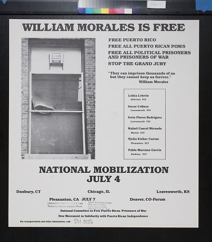 William Morales Is free