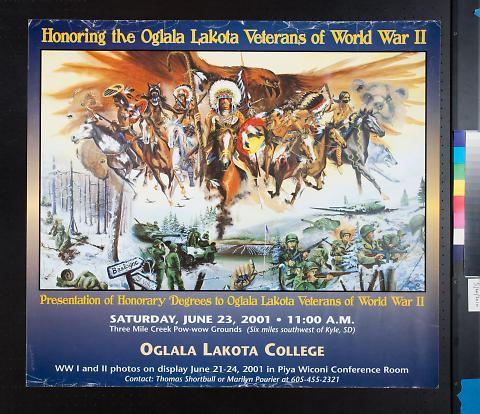 Honoring the Oglala Lakota Veterans of Word War II