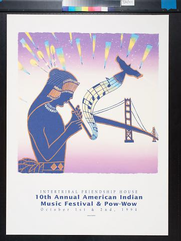 10th Annual American Indian Music Festival & Pow-Wow