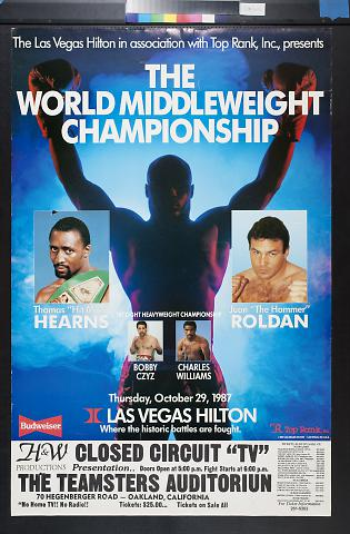 The World Middleweight Championship