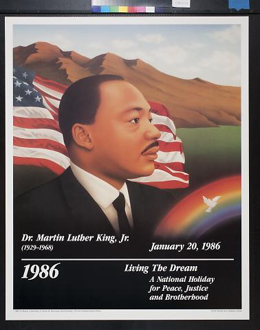 Dr. Martin Luther King, Jr. January 20, 1986