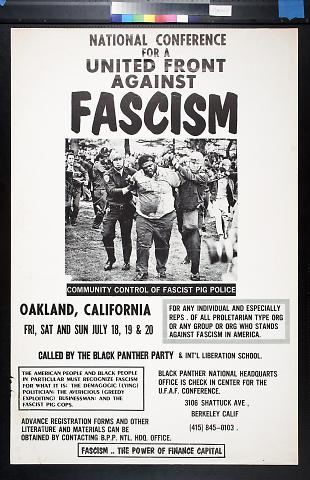 National Conference for a United Front against Fascism