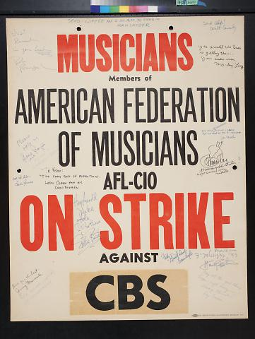 Musicians On Strike