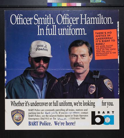 Officer Smith. Officer Hamilton. In full uniform.