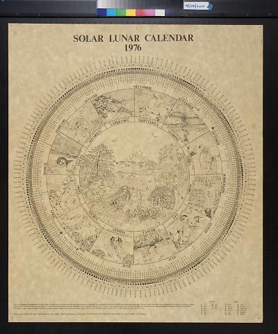 Solar Lunar Calendar 1976