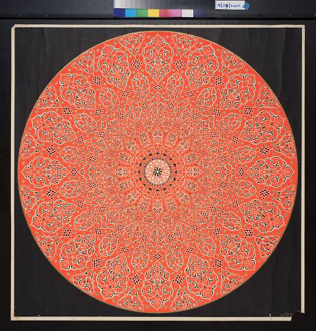 untitled (patterned circle)