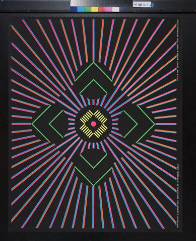 untitled (central graphic with rays radiating out)
