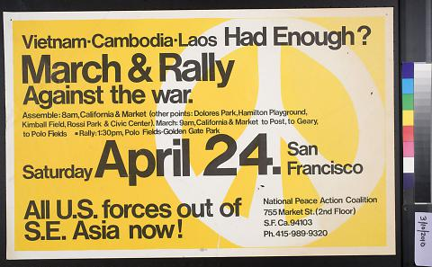 March & Rally Against the War