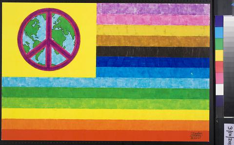 untitled (peace flag)