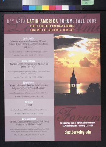 Bay Area Latin America Forum