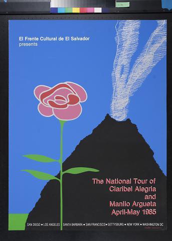 The National Tour of Claribel Alegria and Manlio Agueta