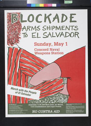 Blockade Arms Shipments to El Salvador