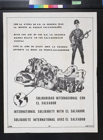 Solidaridad Internacional con El Salvador [International solidarity with El Salvador]