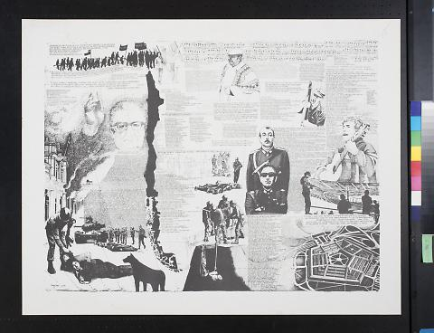 untitled (Chilean scenes of war and Augusto Pinochet)