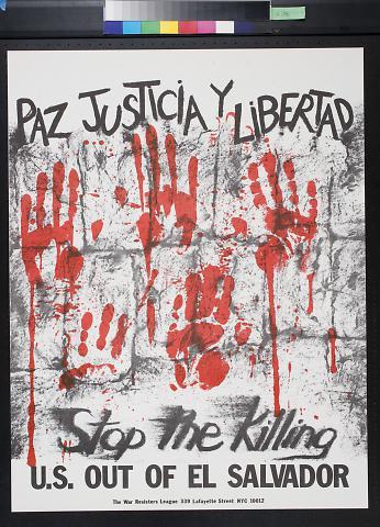 Paz Justicia Y Libertad: U.S. out of El Salvador