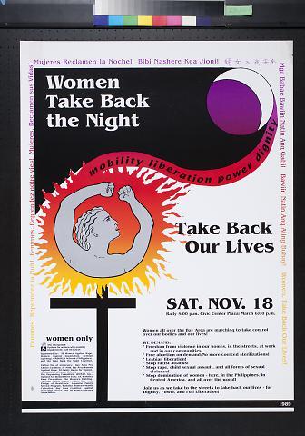 Women Take Back the Night