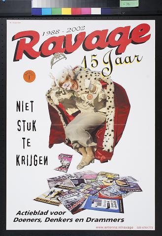 1988 - 2003 Ravage 15 Jaar