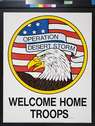 Welcome Home Troops, Proud of Our Troops