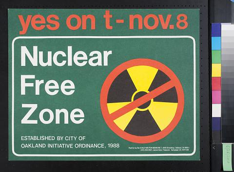 Yes On T - Nov. 8: Nuclear Free Zone