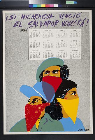 Si Nicaragua Vencio, El Salvador Vencera! [If Nicaragua could win, El Salvador will too!]