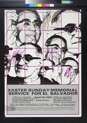 Easter Sunday Memorial Service for El Salvador