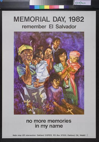 Memorial Day, 1982: Remember El Salvador
