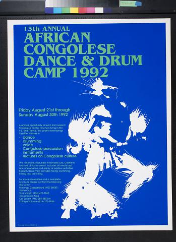 African Congolese Dance & Drum Camp