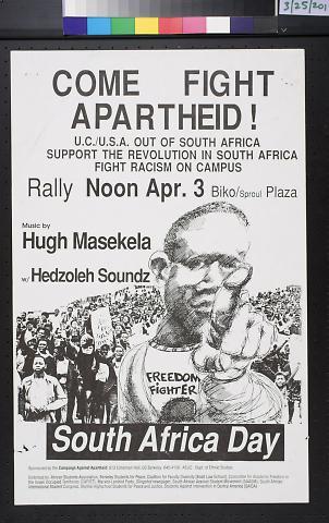 Come Fight Apartheid!