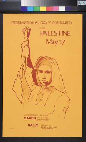 International Day of Solidarity / With / Palestine / May 17