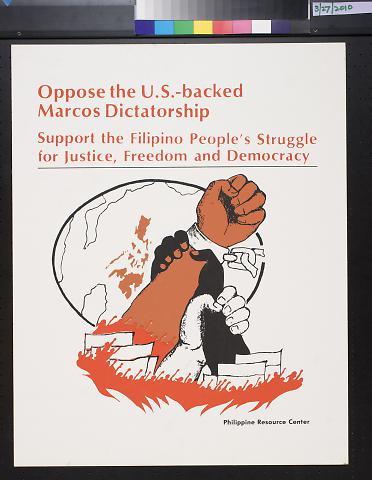 Oppose the U.S.-backed Marcos Dictatorship