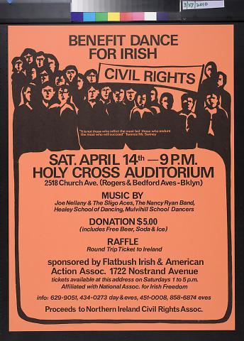 Benefit Dance For Irish Civil Rights