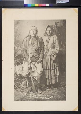 Cheif of Chiricahua Apaches