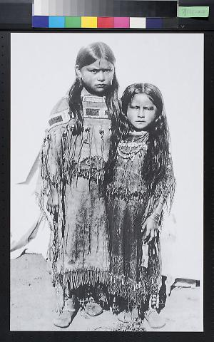 Untitled (North American Indian Young Girls)