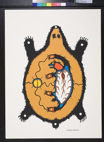 Untitled (flat bear)