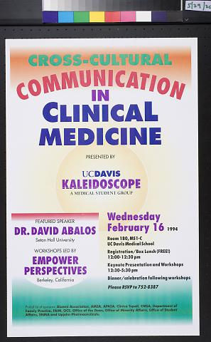 Cross-Cultural Communication in Clinical Medicine