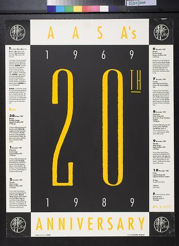 AASA's 20th Anniversary