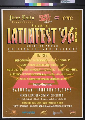 Latinfest '96 Tour