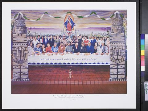 The Last Supper of Chicano Heroes