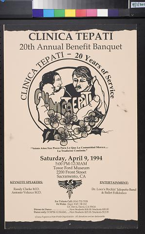 Clinica Tepati, 20th Annual Benefit Banquet