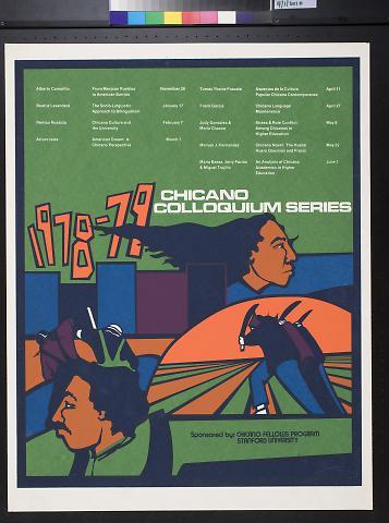1978-79 Chicano Colloquium Series
