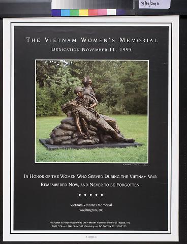 The Vietnam Women's Memorial: Dedication November 11, 1993