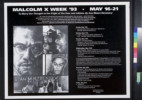 Malcolm X Week '93