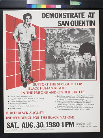 Demonstrate At San Quentin