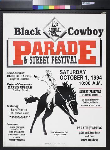 Black Cowboy Parade & Street Festival