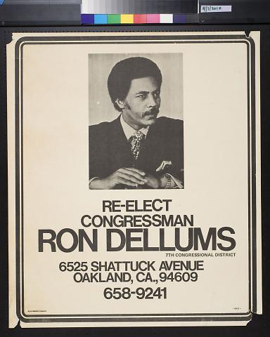 Re-Elect Congressman Ron Dellums