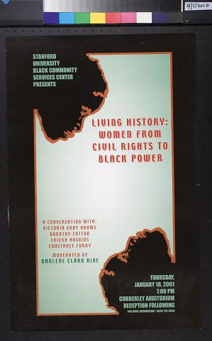 Living History: Women From Civil Rights to Black Power