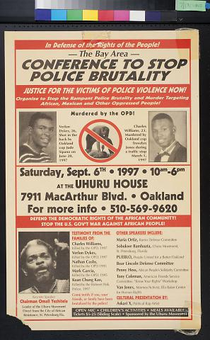 Conference to Stop Police Brutality