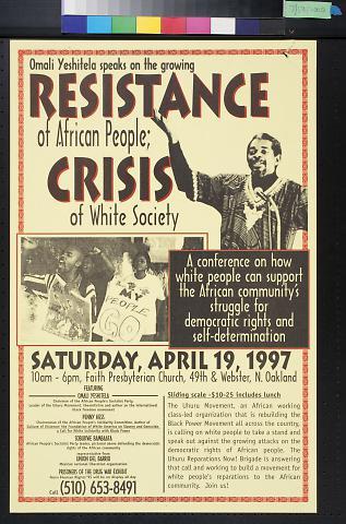 Omali Yeshitela speaks on the growing Resistance of African People
