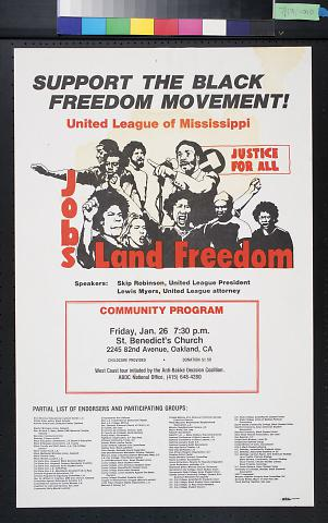 Support The Black Freedom Movement